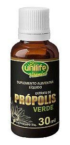 Extrato De Própolis Verde 30ml - Unilife