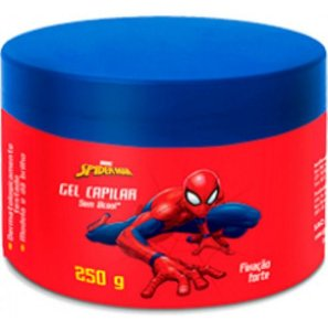 Gel Capilar Homem Aranha Fixação Forte 250g - Nutriex