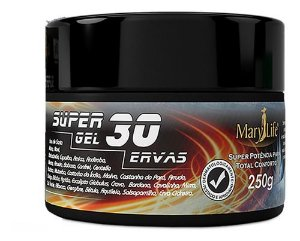 Pomada Super Gel 30 Ervas 250g - Mary Life