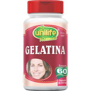 Gelatina 550mg 60 Cápsulas - Unilife