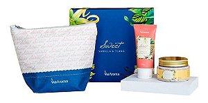 Kit Presente Necessaire Hidratante e Esfoliante Vanilla e Ylang - Via Aroma