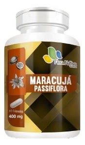 Maracujá Passiflora 400mg 60 Cápsulas - Flora Nativa