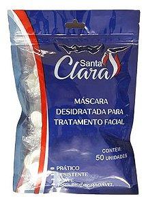 Máscara Desidratada Facial 50 Unidades - Santa Clara