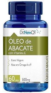 Oleo De Abacate E Vitamina E 1000mg 60 Cápsulas - Dr Lair