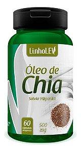 Óleo De Chia 60 Cáps 500mg - Linho Lev