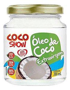Óleo De Coco Cocoshow Extravirgem 200ml - Copra