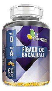 Óleo De Figado De Bacalhau 250mg 60 Cápsulas - Flora Nativa