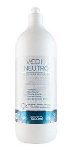 Óleo Para Massagem Neutro 1 Litro - Vedis