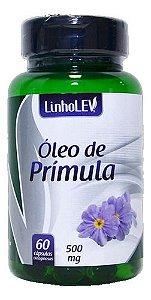 Óleo De Prímula 60 Cápsulas 500mg - Linho Lev