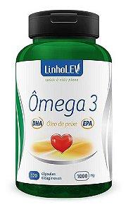 Omega 3 120 Cápsulas 1000mg - Linho Lev