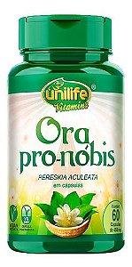 Ora Pro-nóbis 60 Cápsulas 450mg - Unilife