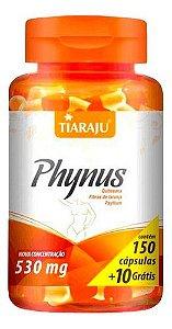 Phynus Quitosana E Psyllium 530mg 160 Cápsulas - Tiaraju