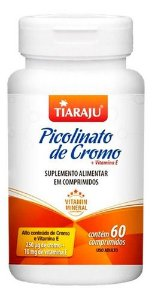 Picolinato De Cromo 560mg 60 Cápsulas - Tiaraju