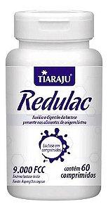 Lactase Redulac Enzima Lactose 9000 Fcc 60 Comprimidos - Tiaraju