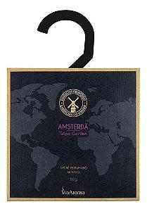 Sachê Perfumado Antimofo Amsterdã - Via Aroma