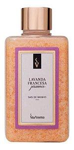 Sais De Banho Lavanda Francesa 440g Via Aroma