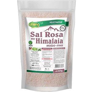 Sal Rosa Do Himalaia Fino 1kg - Unilife