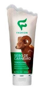 Creme Sebo De Carneiro 200ml - Fashion