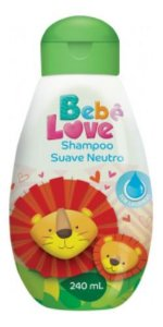 Shampoo Bebê Love Suave Neutro 240ml - Nutriex