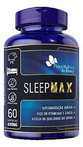 L Triptofano Sleep Max 60 Cápsulas 450mg - Flora Nativa