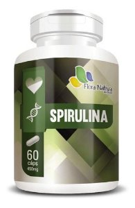 Spirulina 450mg 60 Cápsulas - Flora Nativa