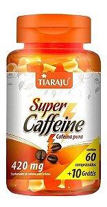 Super Caffeine 70 Comprimidos 420mg - Tiaraju