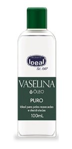 Vaselina Óleo 100ml Puro - Ideal