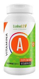 Vitamina A 60 Cápsulas 400mg - Linho Lev
