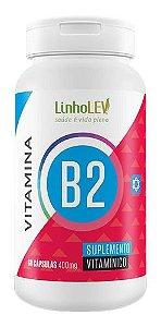 Vitamina B2 400mg 60 Cápsulas - Linholev