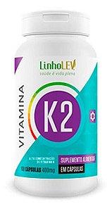 Vitamina K2 60 Caps 400mg - Linholev
