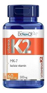Vitamina K2 Mk-7 60 Cápsulas 500mg - Dr New Qi