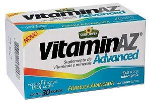 Vitamina Az Advanced 1500mg 30 Cápsulas - Sunflower