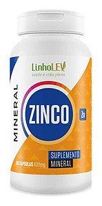 Zinco 400mg 60 Cápsulas - Linho Lev