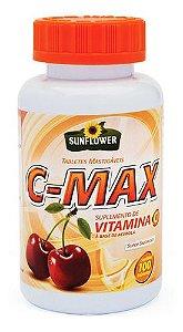 C-max 100 Tabletes Mastigáveis - Sunflower