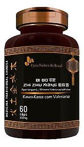 Kawa-kawa E Valeriana 60 Cápsulas 500mg - Flora Nativa