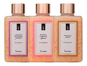 Sais De Banho 440g Escolha O Aroma- Via Aroma