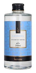 Refil Difusor Varetas Lavanderia 250ml - Via Aroma