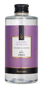 Refil Difusor Varetas Lavanda Francesa 250ml - Via Aroma