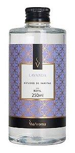 Refil Difusor Varetas Lavanda 250ml - Via Aroma