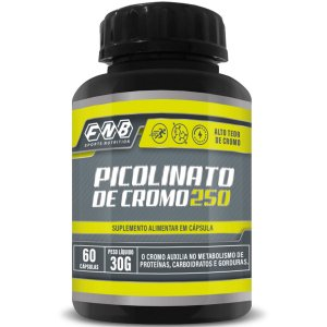 Picolinato De Cromo 500mg 60 Cápsulas - Flora Nativa