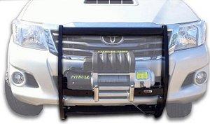 Protetor De Grade Frontal Com Mesa De Guincho 2005/2015 Toyota Hillux