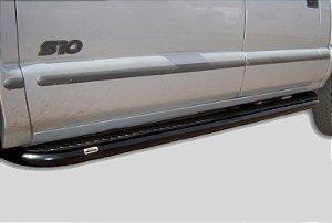 """Estribo S10 Xadrez 2 1/2"""" (P. 1,5mm) Cabine Dupla Chevrolet"""