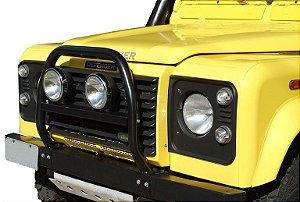 """Protetor """"A"""" Com Travessa Removível Land Rover Defender"""