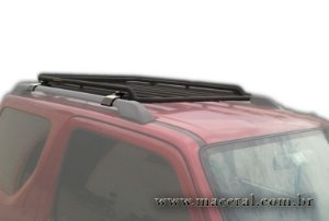 Bagageiro Suzuki Jimny Com Apoio No Rack