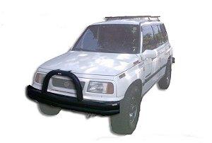 """Para-Choque Tubular Dianteiro 3"""" Impulsão 1993/1997 Suzuki Vitara 3 Portas"""
