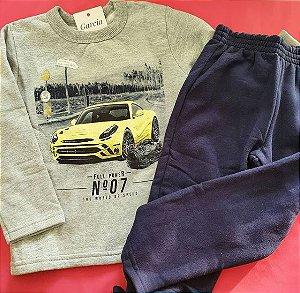 Blusa e calça moletom tamanho 3