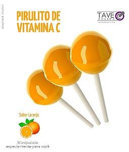 Pirulitos com Vitamina C
