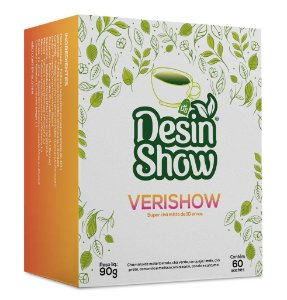 VeriShow Chá Anti-celulite com 60 sachês!
