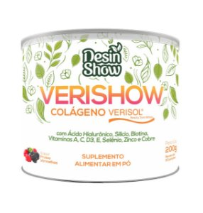 Verishow 200g - Tratamento Anti-envelhecimento 7 em 1 com Colágeno Verisol