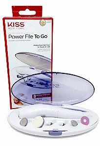 Power file To Go kiss NY - Lixa Elétrica Portátil